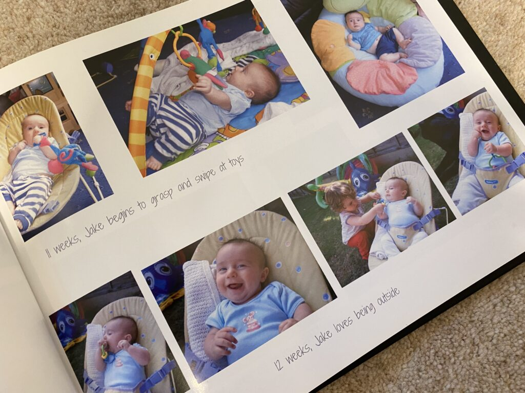 photo book pictures of baby boy